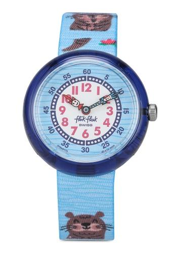 Flik Flak blue Like No Otter Watch E92FBKC5087FB3GS_1