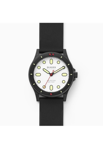 Skagen black Fisk Watch SKW6667 D829AACD693DB3GS_1
