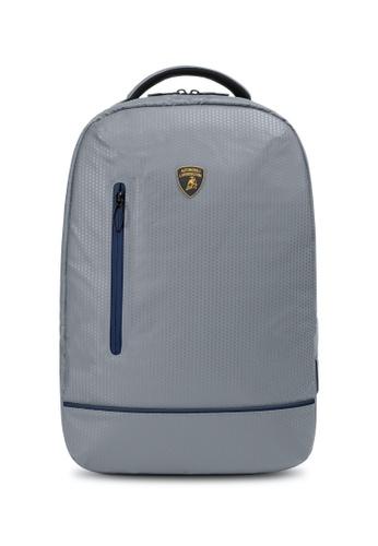 Lamborghini grey Automobili Lamborghini® Galleria Grey Backpack 9E193AC00E72D2GS_1