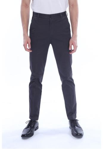 Amar Amran grey Khakis Long Pant E78ADAA4247220GS_1