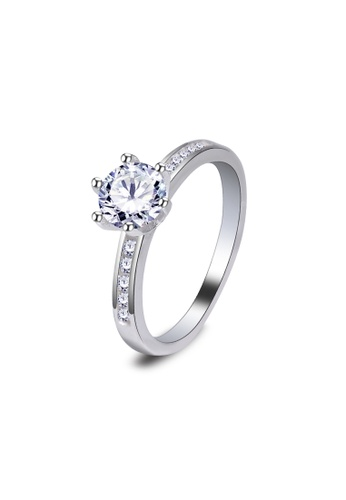 SC Tom Silver silver Ladies Stone Ring/Ladies Ring with Stone-RSL021  SC872AC07JYQPH_1
