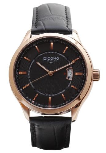 PICONO Watches black Monarch Minimalist Dial Fashion Watch AD3F4AC130DA92GS_1