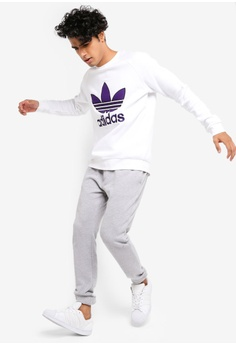 best website 8c83b fc025 20% OFF adidas adidas originals trefoil crew sweatshirt S  110.00 NOW S   87.90 Sizes S M L XL