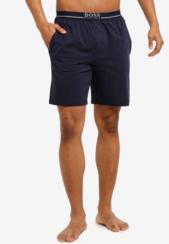 BOSS 海軍藍色 Mix & Match Shorts - Boss Body 39ACDAAF681464GS_1