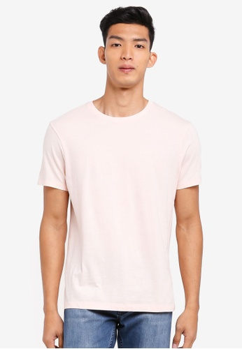 J.Crew pink Slim Broken T-Shirt 0A643AA7363330GS_1