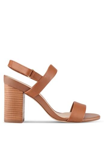 ALDO 米褐色 質感高跟鞋 AL087SH0S72VMY_1