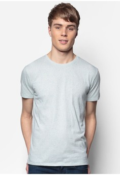 Textured Cotton T-Shirt