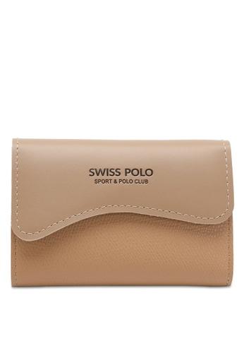 Swiss Polo brown Casual Card Holder 97D34AC5293E2CGS_1