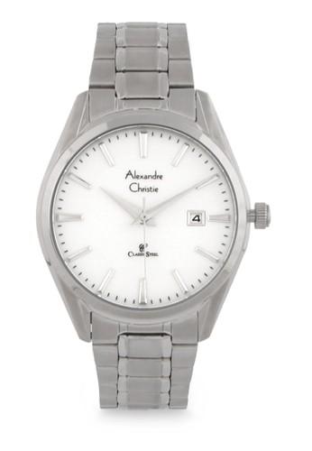 Alexandre Christie silver Alexandre Christie Jam Tangan Wanita - Silver White- Stainless Steel - 8554 LDBSSSL A5E0CACDDEA529GS_1