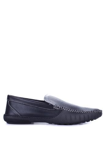 Mendrez black Alfie Loafers & Moccasins ME992SH61ZUWPH_1