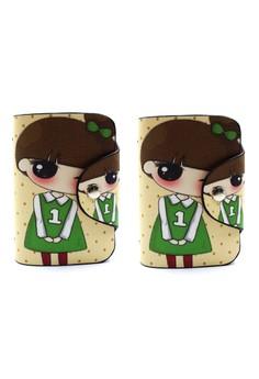 Set of 2 Dara Card Holder