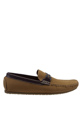 Antton & Co brown Antton & Co Ermal-Buckle Loafer In Camel 42A7DSH285E4DBGS_1