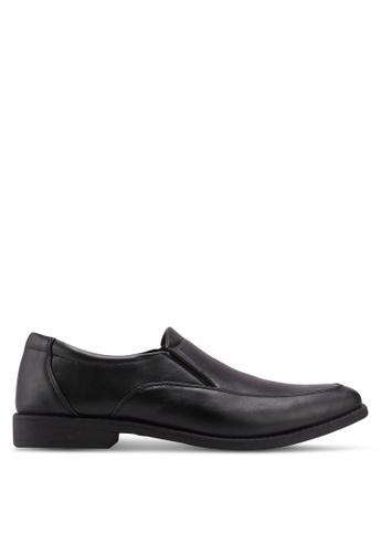 Bata black Bata Faux Leather Dress Shoes 888FBSHFAE5996GS_1
