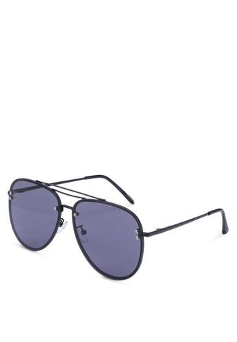 ALDO black Horeven Sunglasses 96C98GLECBB20DGS_1