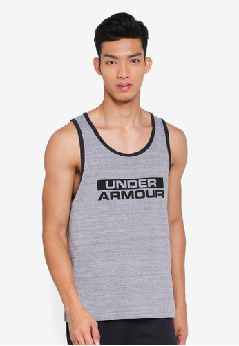 Under Armour grey Sportstyle Cotton Tank Top 28321AAF82AF61GS_1