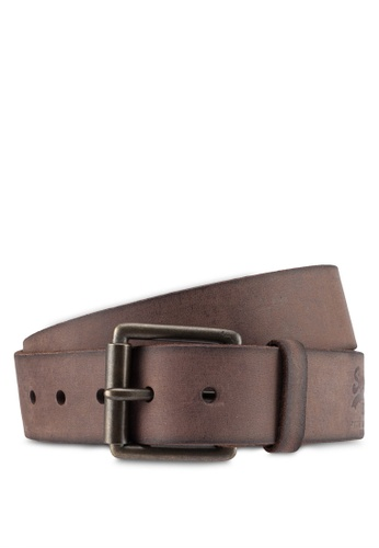Superdry brown Western Belt In A Box ECD3CAC43F73ECGS_1