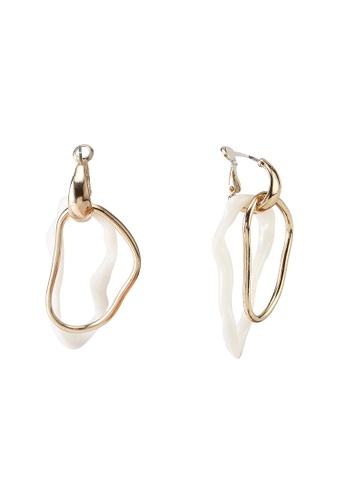 niko and ... grey Metallic Earrings 60AC1ACBD2D4F9GS_1