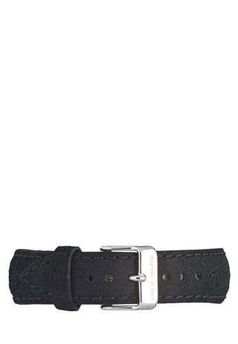 Leather Strap Silver