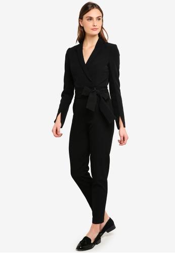 Forever New black Dianne Tuxedo Jumpsuit 2DE79AA4BD9496GS_1