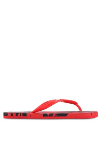 Superdry red SUPER SLEEK AOP FLIP FLOP 8713FSHEB86D1DGS_1
