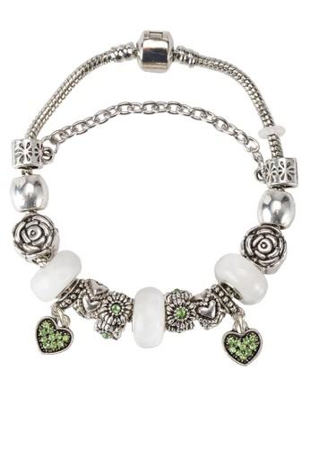 綠意自然手鐲, 飾品配件, 手鐲 zalora 手錶& 手環