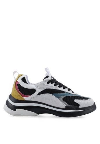 Kolca black and red and yellow Mishmash Sneakers D7F49SHD70A8FDGS_1