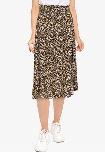 URBAN REVIVO grey Casual Skirt 2235DAA0ED4B66GS_1