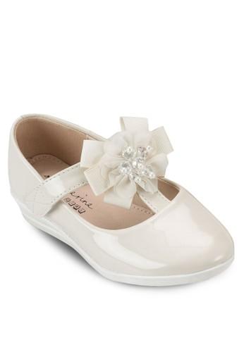 Riley 立體花飾瑪麗珍鞋,esprit 衣服 鞋