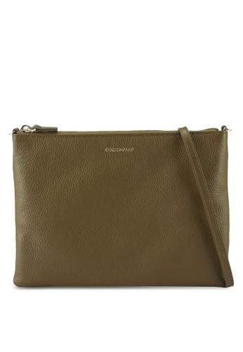 Coccinelle green Best Crossbody Sling Bag B7B1FACD8679FDGS_1