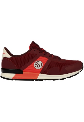 paperplanes red Paperplanes-1310 Fashion Casual Nighglow Running Trainer Shoes US Women Size PA355SH31PHOSG_1