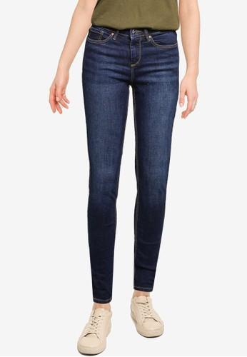 Springfield blue Slim Cut Sustainable Jeans 404B3AACBA867CGS_1