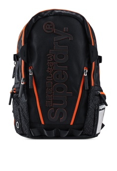 b7f3d2d8c266 Superdry black Diamond Aop Tarp Backpack 03219AC9071781GS 1