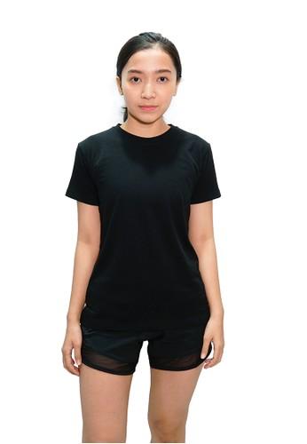 Trijee black Trijee Women Short Sleeve Tee Callum - Black 1F8E3AA98A4F8EGS_1