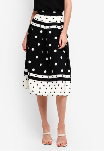 bYSI black Polka Dot Skirt CC342AA276D453GS_1