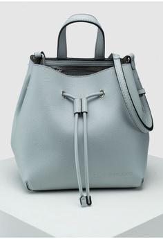 Calvin Klein silver City Bucket Bag - Calvin Klein Accessories  BB526AC8020669GS 1 b84b1fd23fb67