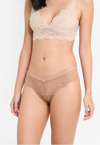 Cotton On Body brown Candice Brasiliano Brief 15C1FUS42EBB32GS_1