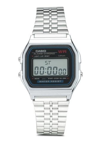 Casio silver Casio Watch A159W-N1DF 817FBACA5F8392GS_1