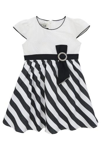 FIYORA black Summer Cotton Girl Dress ED707KA13EF47EGS_1