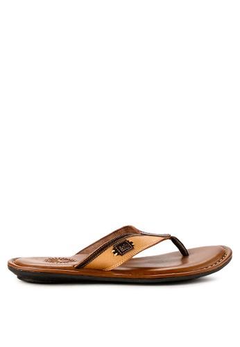 LOIS JEANS brown Sandals 06C0ASH581D941GS_1