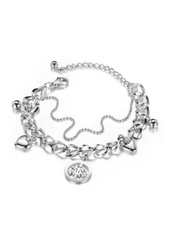 CELOVIS silver CELOVIS - Willow Symbolic Tree of Strength Pendant Bracelet in Silver 1BD74ACE7EED2BGS_1