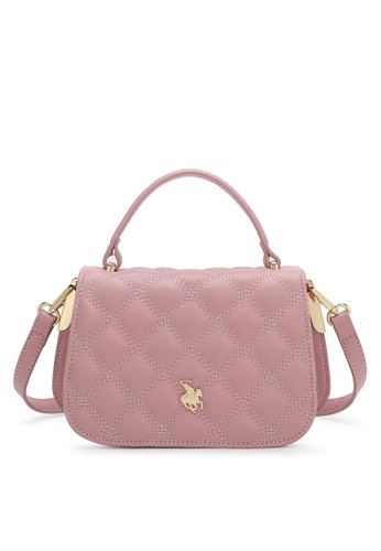 Swiss Polo pink Casual Top Handle Bag 2B67DACE0204A3GS_1