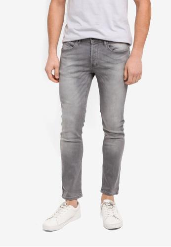 River Island grey Sid Skinny Jeans C5C57AA18FD62EGS_1