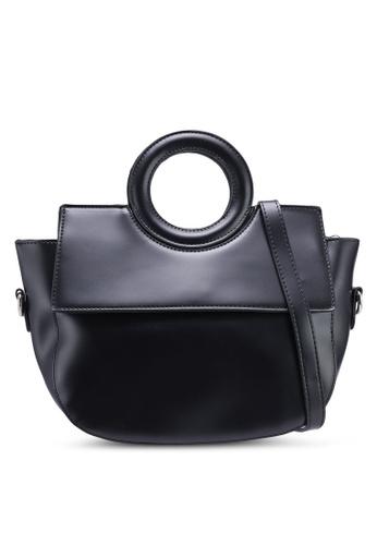 Berrybenka black Rexy Decca Top Handle Bag 70CC5ACEFB9FDBGS_1
