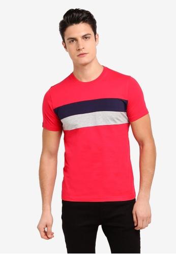 Volkswagen 粉紅色 短袖印花T恤 F192DAA60DE12BGS_1
