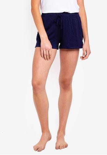 Cotton On Body 藍色 Sleep Recovery Shorts EDA0FAADD7D8C8GS_1