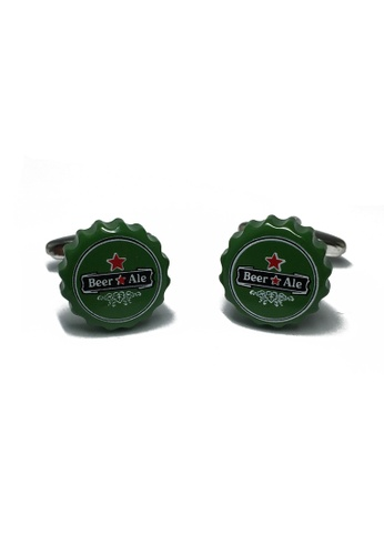 Splice Cufflinks Beer Bottle Caps Cufflinks SP744AC10KSJSG_1
