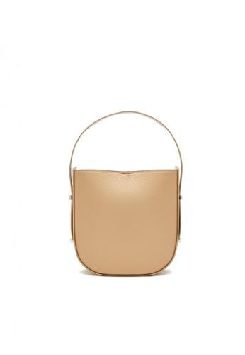 Pazzion brown Bucket Leather Tote 0D7FAACC1ECC85GS_1