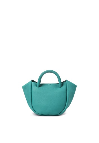 BERACAMY green and blue BERACAMY NADIA Mini Satchel - Turquoise 92143ACA820F78GS_1