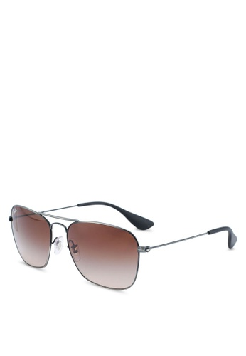Ray-Ban 黑色 Ray-Ban RB3610 Sunglasses 1DFE4GLCE18ED6GS_1