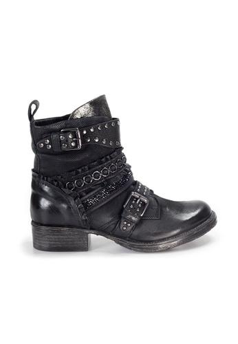 Shu Talk 黑色 LeccaLecca 型格窩釘短靴 7A3E0SHDC43EE6GS_1